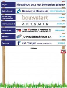 Aula Maassluis bord